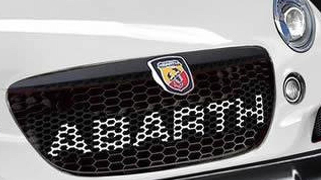 Abarth roadster rendering