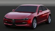 2016 Alfa Romeo Giulia rendering / Marco Procaccini and Rosario Dalessandro