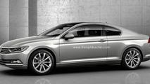 2015 Volkswagen Passat Coupe render