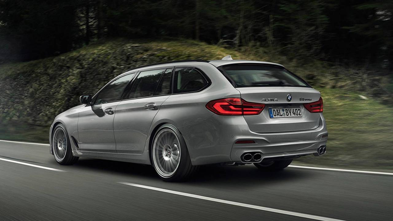 3. Alpina B5 Biturbo : 3,6 secondes