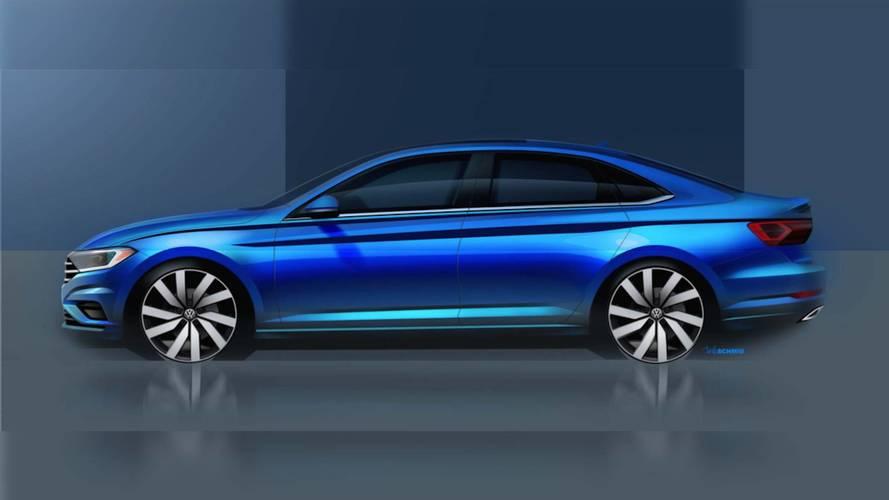 Premier teaser pour la nouvelle Volkswagen Jetta