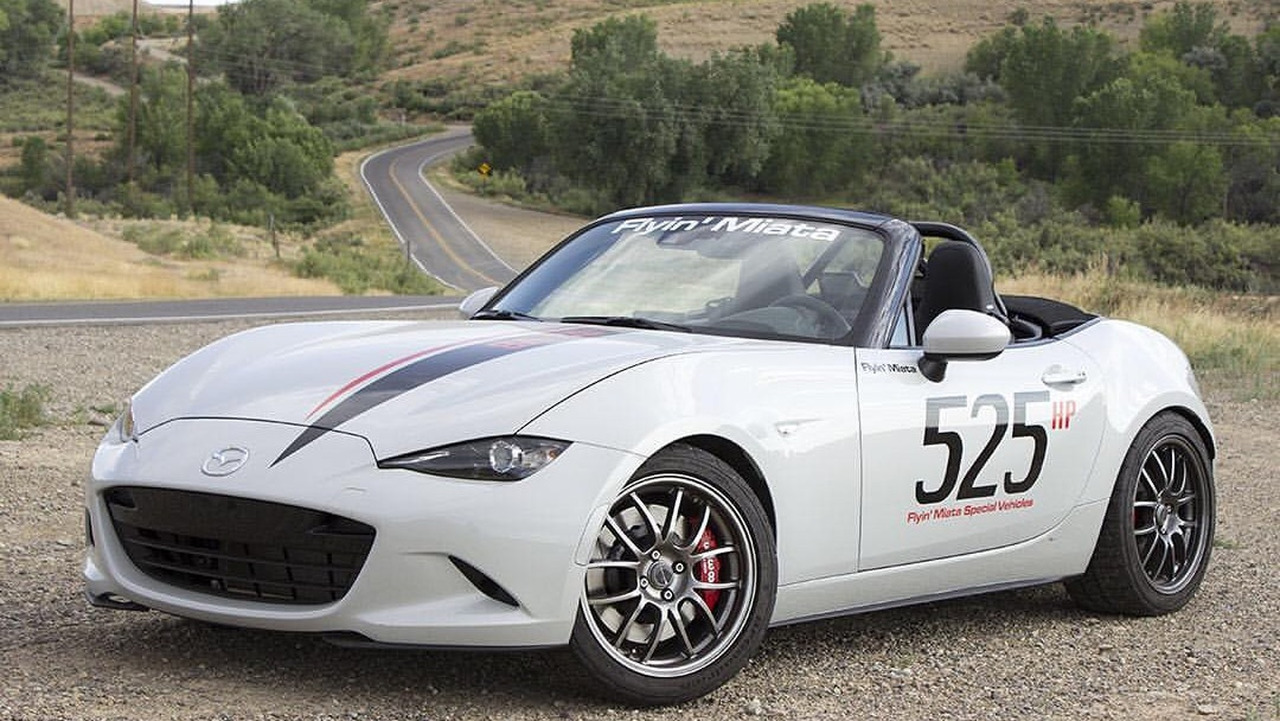 V8-powered Mazda MX-5 Miata