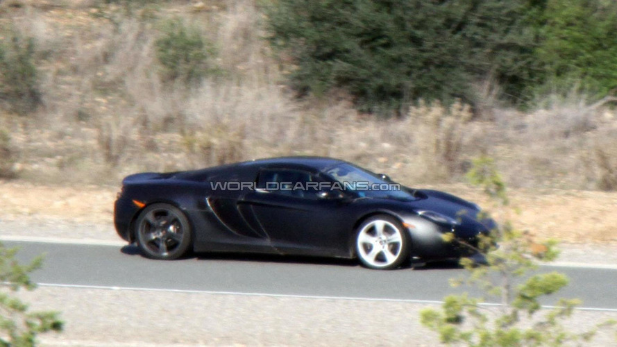McLaren MP4-12C Spider debuts this year - report