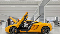 McLaren Production Centre Ouverture
