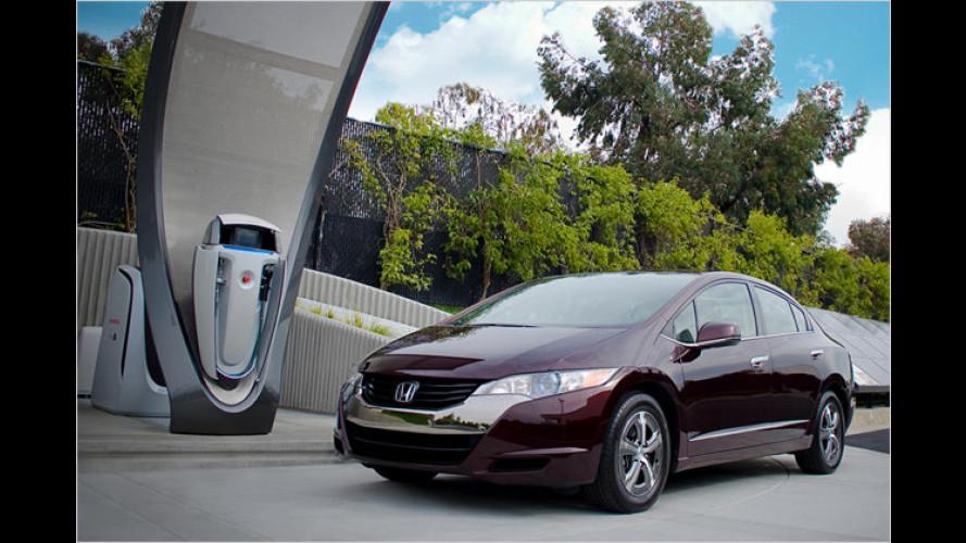 Honda: Wasserstoff-Tankstelle für die Garage