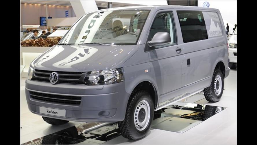 Für den harten Einsatz: Mit dem VW Rockton ins Gelände