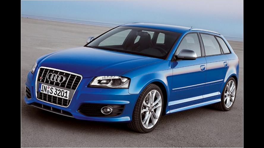 Audi S3 Sportback: Neues Topmodell powert mit 265 PS