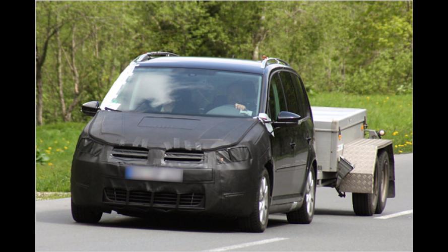 Erlkönig erwischt: Aktuelles VW-Gesicht für den Touran?