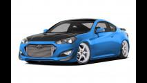 Hyundai Genesis Coupe by Bisimoto: