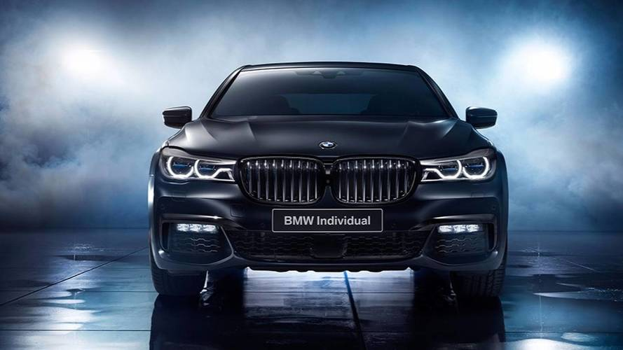 BMW Série 7 Edition Black Ice - Seulement pour les russes