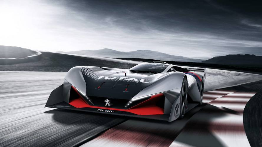 Peugeot L750 R Hybrid Revs To 10,000 RPM In Gran Turismo Sport