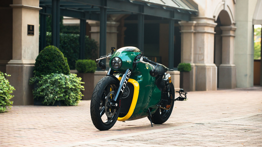 Lotus C-01 motorcycle by Roborace designer Daniel Simon goes to auction