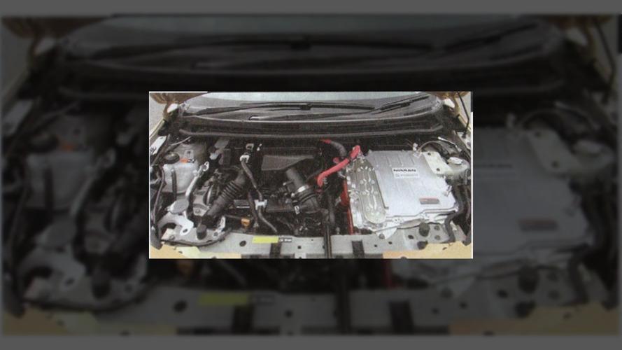 2017 Nissan Note Hybrid leaked images