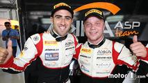 Les polemen #88 AKKA ASP Mercedes AMG GT3: Tristan Vautier, Felix Rosenqvist
