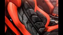 Ferrari 458 Spider'a Carlex Design makyajı