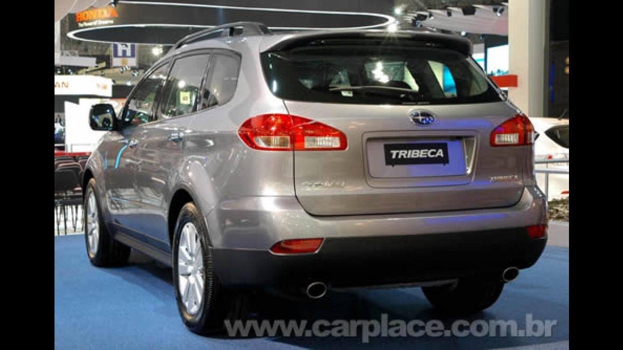 Caoa convoca Recall do Subaru Tribeca devido a possível problema na suspensão