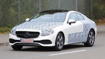 2018 Mercedes E-Class Coupe spy photo