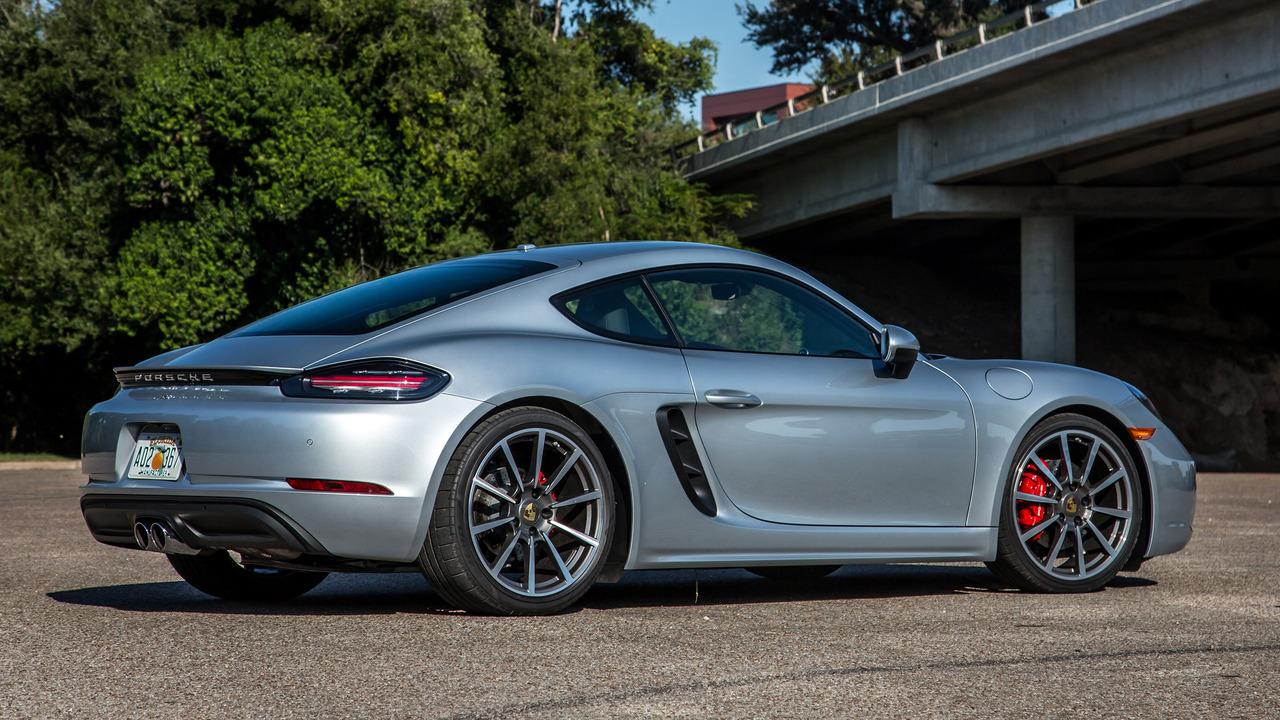 Porsche Cayman Review Car And Driver