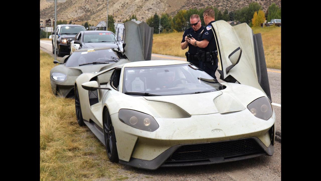 Ford GT prototipi polis tarafından durduruldu