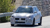2017 Suzuki Swift Sport spy photo