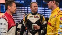 Tom Kristensen, Petter Solberg and Ryan Hunter-Reay