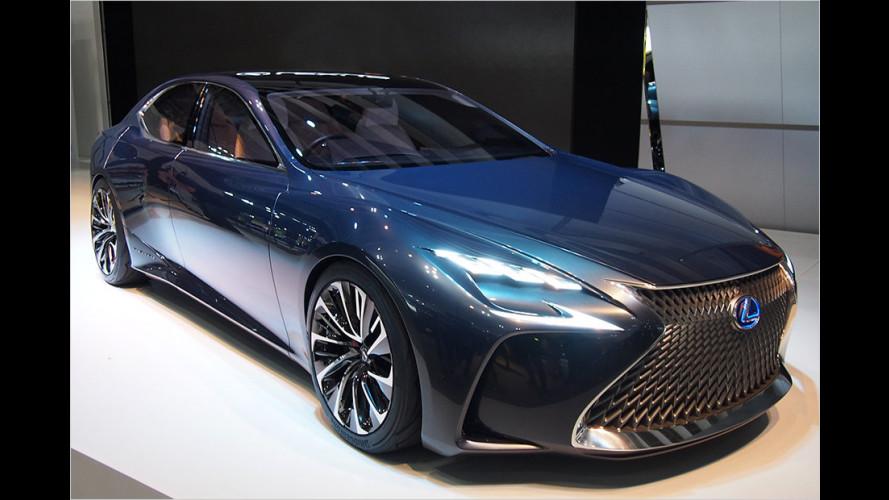 Lexus: Ausblick auf den neuen LS