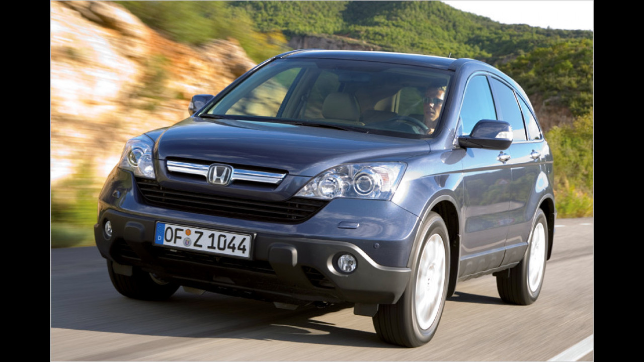 Platz 11: Honda CR-V 2.0