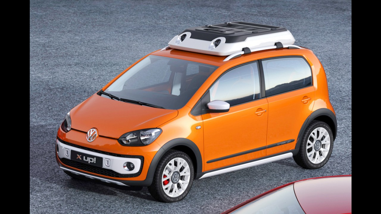 Volkswagen apresentará quatro novos conceitos do Up! no Salão de Genebra