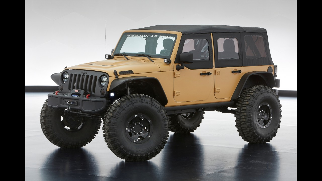 Jeep apresentará seis conceitos em evento off-road nos EUA