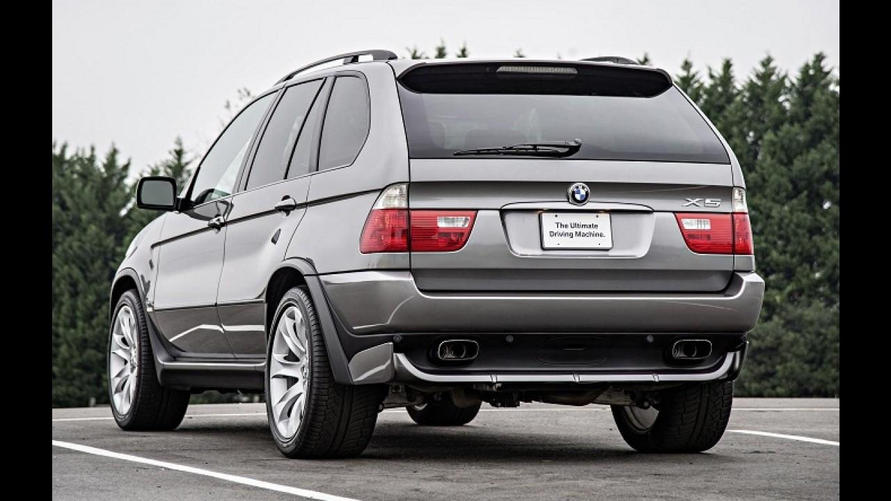 BMW comemora 15 anos do lançamento do X5, o primeiro SUV da marca