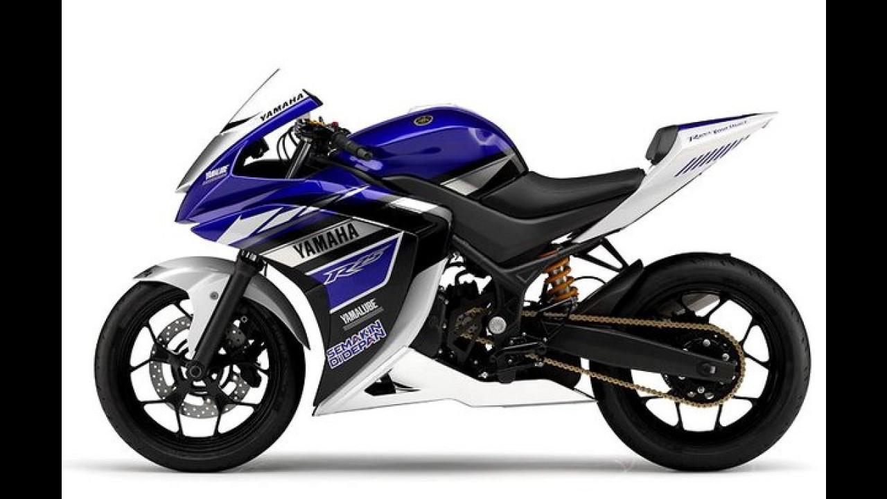Yamaha R25 é o conceito de esportiva com 250cc revelado em Tóquio
