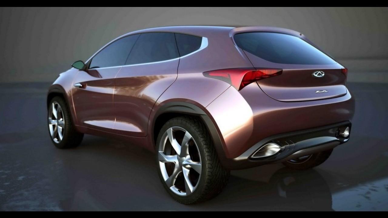 Chery divulga novas imagens do TX Concept, que antecipa nova geração do Tiggo