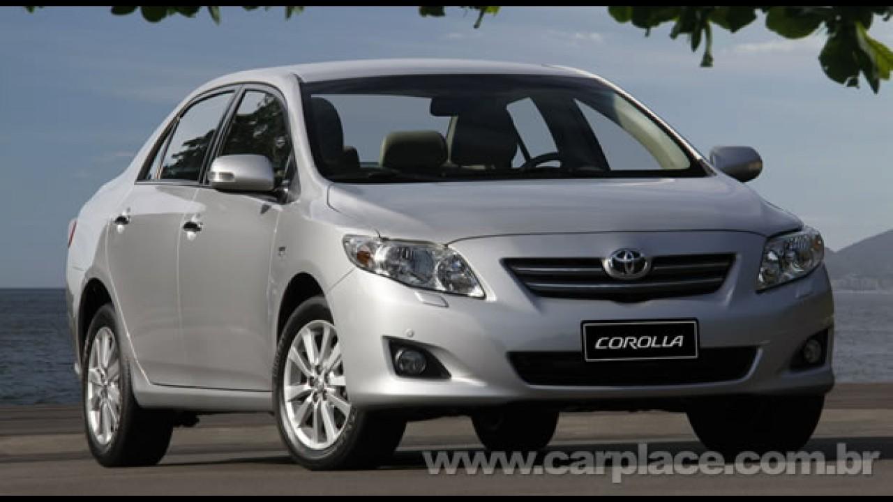 Toyota confirma que Recall dos EUA não afeta os carros vendidos no Brasil