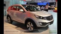 Novo Kia Sportage recebe 5 estrelas pelo EuroNCAP