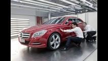 VÍDEOS: Novo Mercedes-Benz CLS 2012