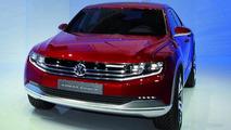 VW Cross Coupé with TDI plug-in hybrid