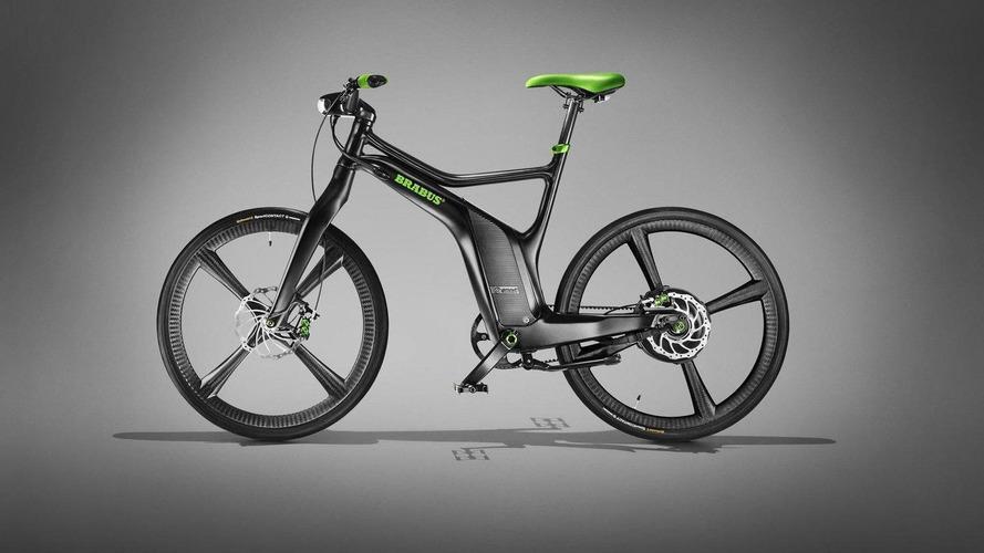 smart Brabus electric drive and ebike set for Geneva