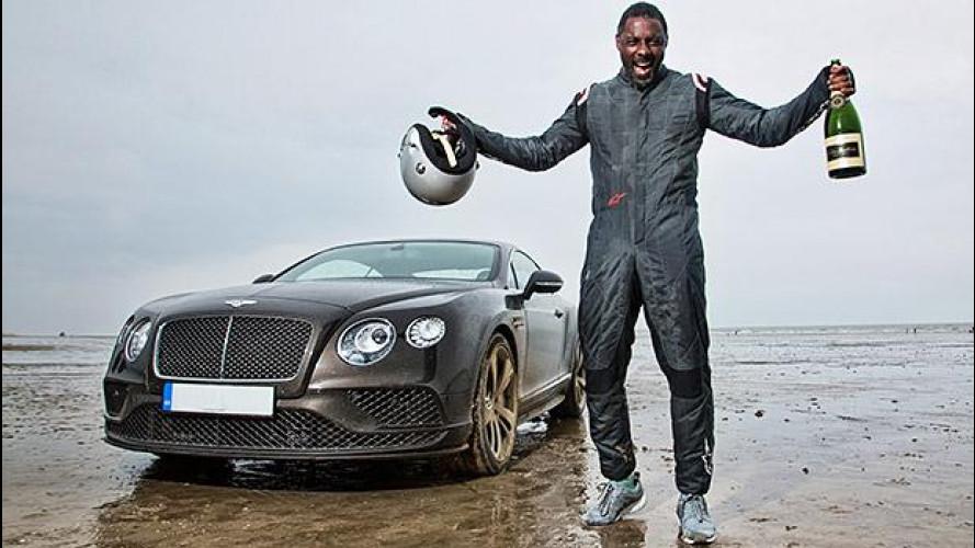 Bentley e Idris Elba insieme per un record di velocità