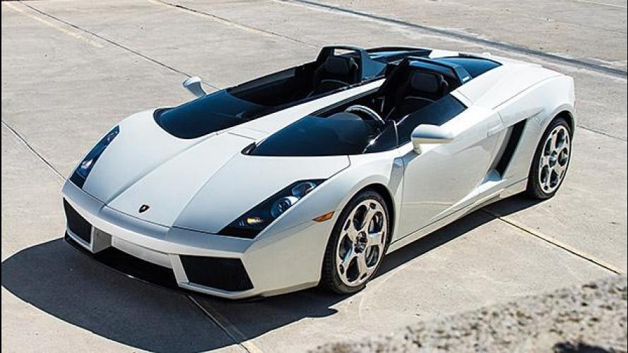 Lamborghini Concept S, all'asta la barchetta da sogno