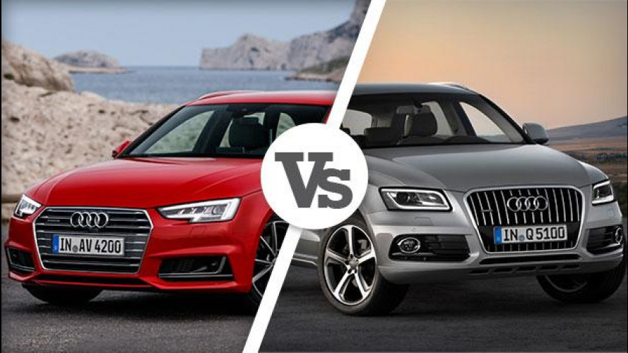 Audi A4 Avant o Q5? E' solo questione di altezza