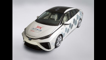 Toyota Mirai, un concept collegato ai satelliti