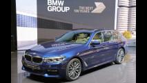 Salone di Ginevra, la nuova BMW Serie 5 Touring fa sport [VIDEO]