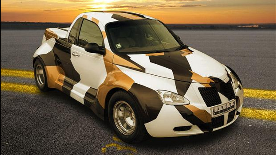 PT Cruiser Widebody, pick-up sportivo in salsa bulgara