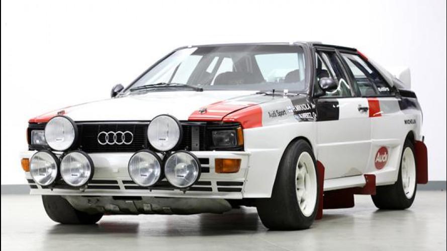 Asta da record a Goodwood per due Audi Quattro degli anni '80
