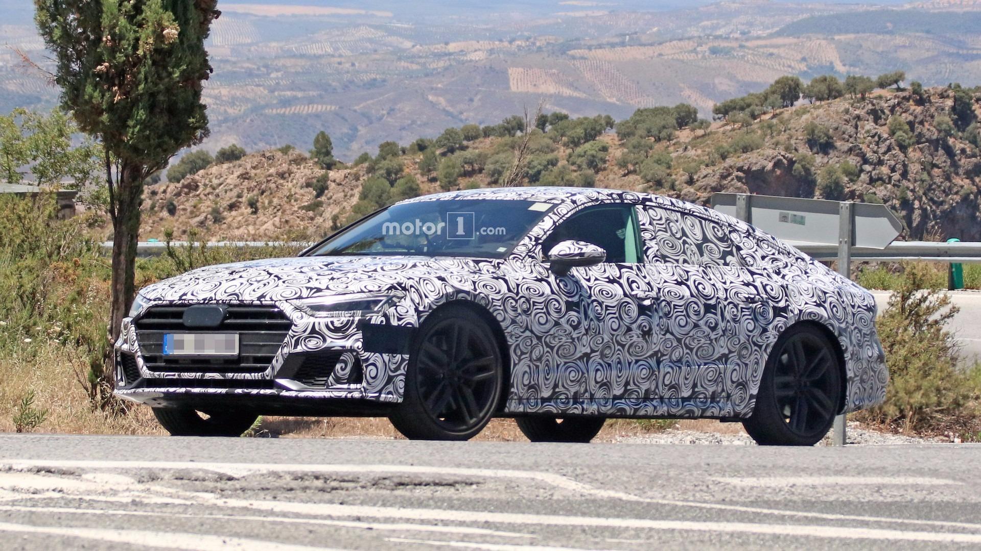 2018 Audi S7 Spied Revealing Sharp New Details