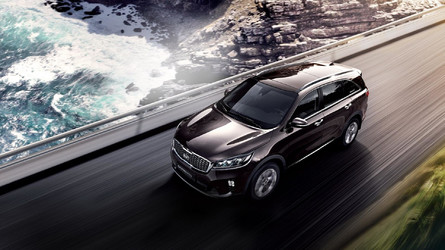 Kia Sorento Receives Snazzy Facelift In South Korea