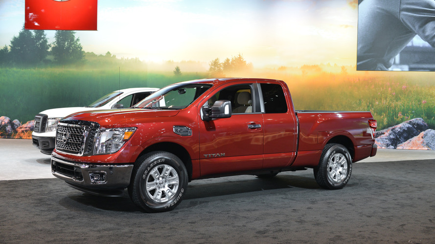 2017 Nissan Titan lineup adds King Cab body style