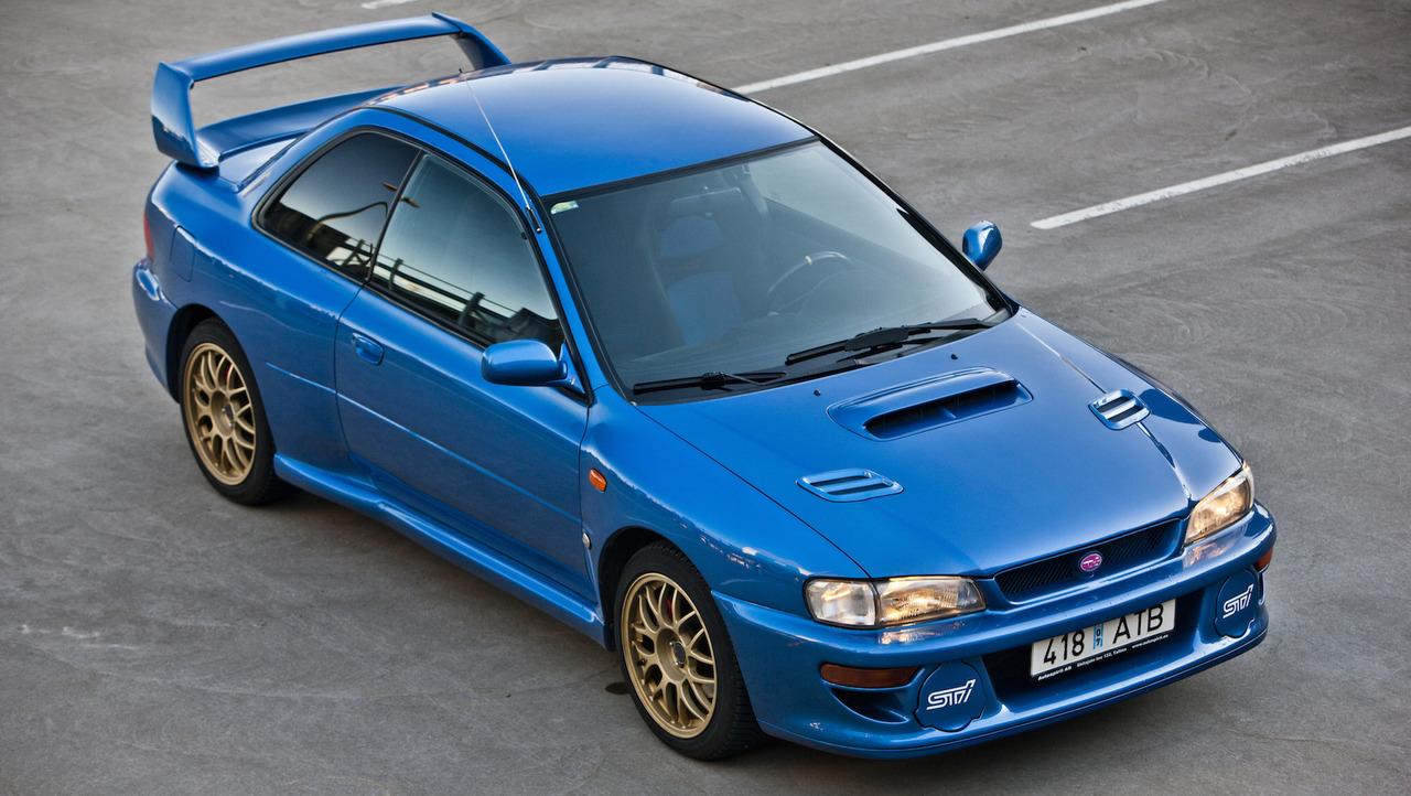 22b Motor A Holy Grail Subaru Impreza 22b Sti Is Up For Sale Subaru Impreza 22b Faces Off