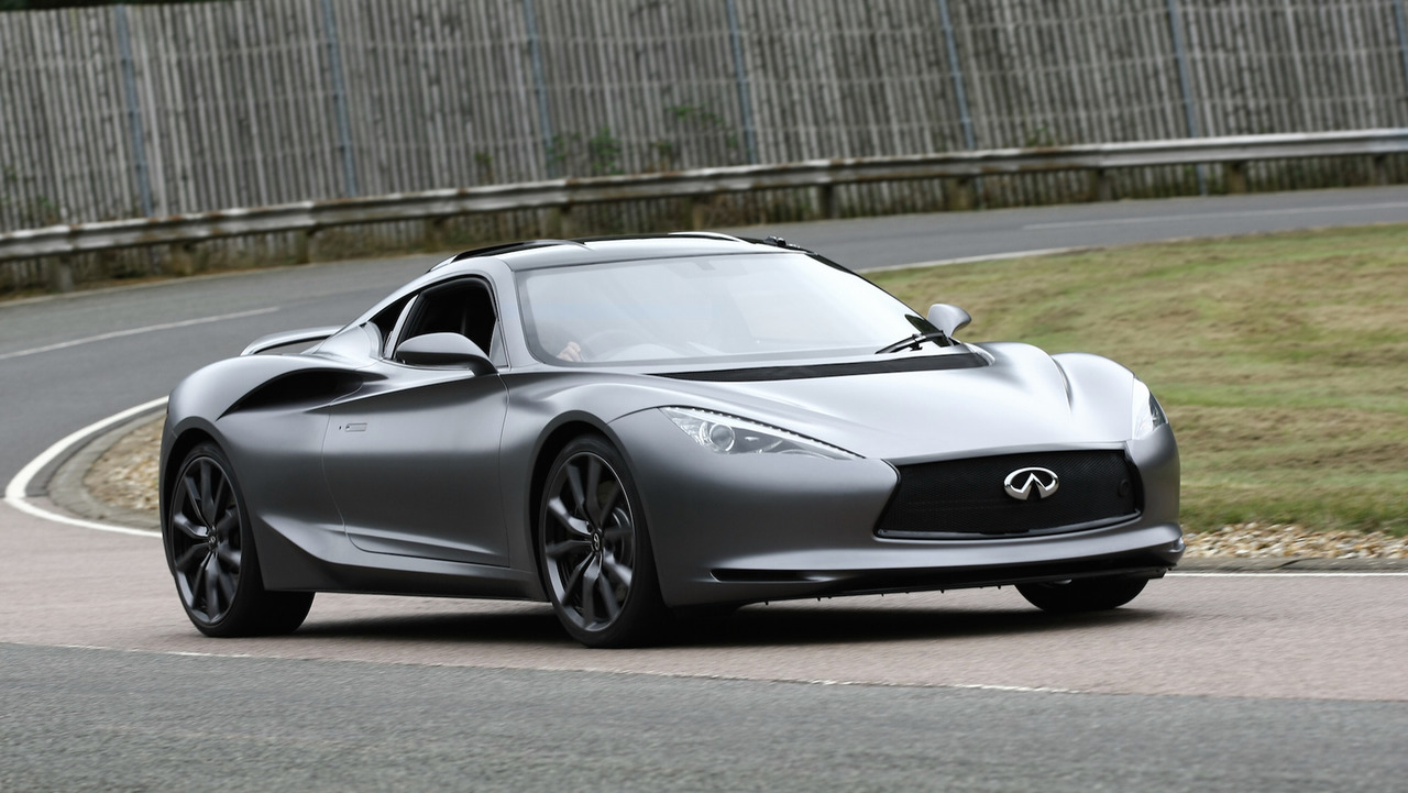 6 head turning infiniti concept cars that preceded prototype 9 2012 infiniti emerg e concept vanachro Images