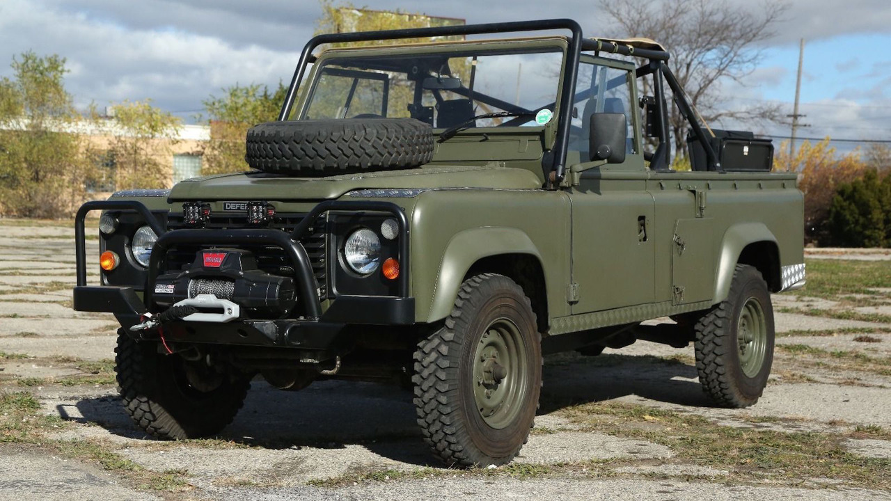 Land Rover Defender Military eBay | Motor1.com Photos